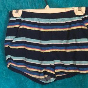 Striped shorts